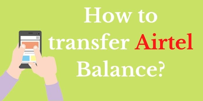 Airtel Balance Tranfer Code www.ussdcode.in