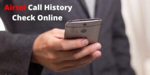 EPREBILL Airtel Call History Check Online