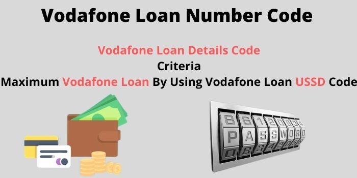 Vodafone Loan Number www.ussdcode.in