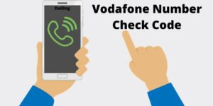Vodafone Number Check Code