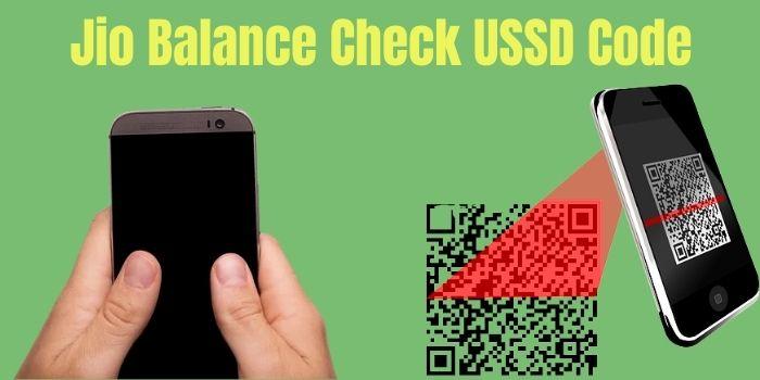 Jio Balance Check USSD Code