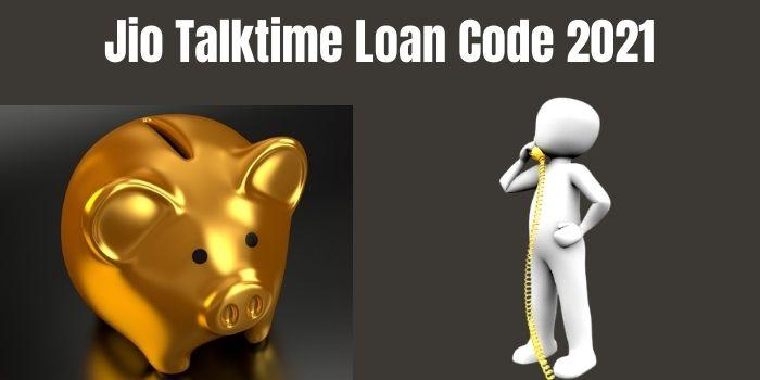Jio Talktime loan number
