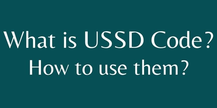 What is USSD code