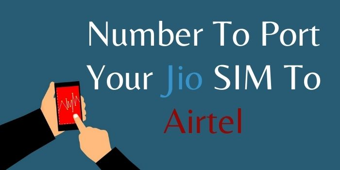 Jio To Airtel Port Number