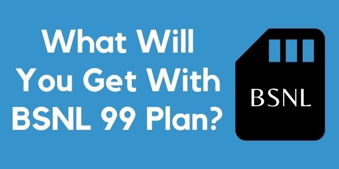 BSNL 99 Plan www.ussdcode.in