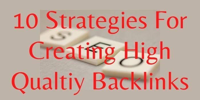 backlink generation strategy