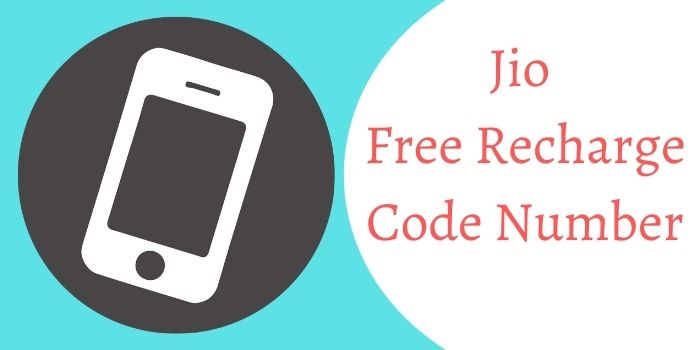 Jio Free Recharge Code Number
